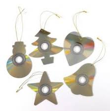 create a 5 point decoration from an cd step by