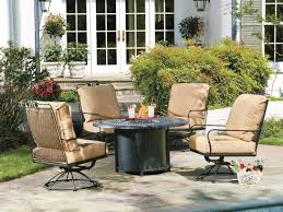 Universal Patio Furniture by Woodard Universal Aluminum Chat Height Round Fire Table Base With