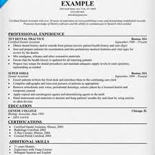 example of dental assistant resume resume for dental assistant dental assistant resume template great dental assistant resume in texas s dental sample resume of dental assistant resume in texas