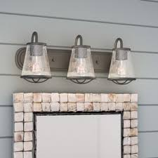 iron bathroom vanity lighting you u0027ll love wayfair