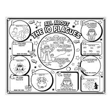 10 plagues of egypt coloring pages coloring home