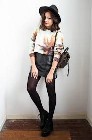 20 style tips on how to wear leather skirts in winter gurl com