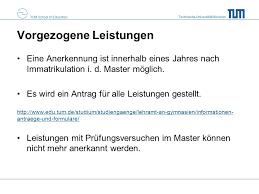Lebenslauf Vorlage Tum 纜bergang In Den Master Naturwissenschaftliche Bildung Ppt