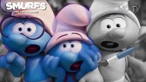 brainy clumsy u0026 hefty smurfs scared smurfs lost village