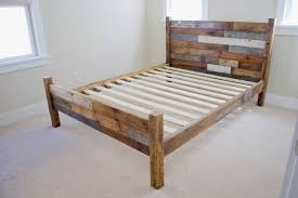 bed frames solid wood platform bed king solid surface platform