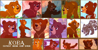 koda brother bear collage scamp4553 deviantart