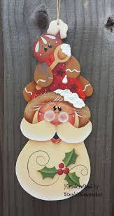 219 best santas images on tole painting drawings and