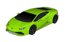 lamborghini huracan pdf huracán paper car free vehicle paper model