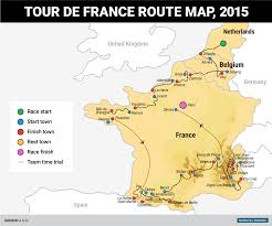 France On A Map by Tony Martin Wins Tour De France Stage On Borrowed Bike Business