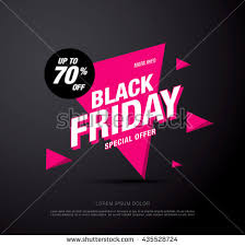 black friday pink sale set black friday sale cards labels stock vector 495661051