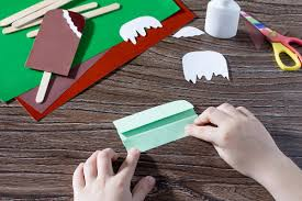 fun summer crafts for kids how to make paper popsicles