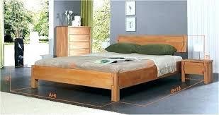chambre à coucher bois massif lit contemporain bois lit massif 160a200 lit contemporain oslo lit