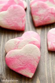valentines day cookies marbled sugar cookies baked by