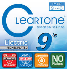 Medium Light Guitar Strings by 9 46 Hybridelectric Guitar Strings Cleartone Store