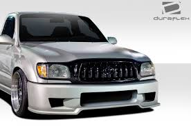 2002 toyota tacoma front bumper 2001 2004 toyota tacoma duraflex xtreme front bumper cover 1pc
