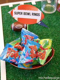 Cute Favor Idea For Football Or Super Bowl Party Birthday