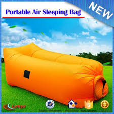 outdoor air inflatable lounger airsofa chair camping tent and
