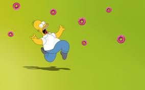 homer simpson donut extravaganza