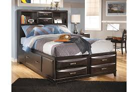 Kira Full Storage Bed Ashley Furniture HomeStore - Ashley furniture homestore bedroom sets
