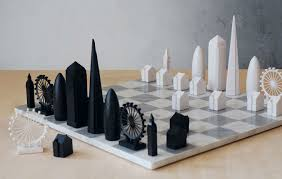 Designer Chess Sets by Architectural Landmarks Of New York City Featured In New Chess Set