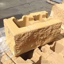 ezywall retaining wall blocks reef gold beige sandstone