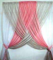 Baby Room Curtain Ideas Pink And White Curtains Ideas Windows U0026 Curtains