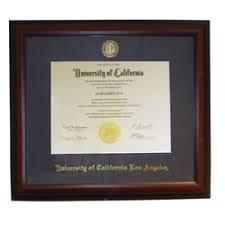 diploma framing ucla bruins diploma frame cherry