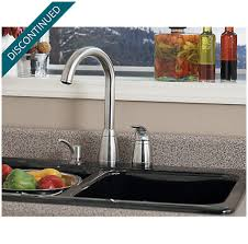 price pfister contempra kitchen faucet stainless steel contempra 1 handle kitchen faucet 526 50ss