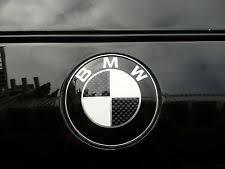 black and white bmw roundel bmw 740 emblem ebay