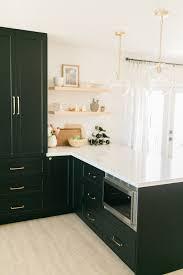 ikea black kitchen cupboards classic black bright and light ikea semihandmade kitchen