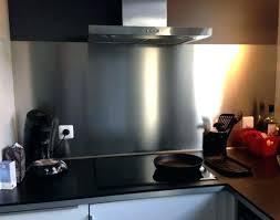plaque d inox pour cuisine revetement mural inox pour cuisine plaque
