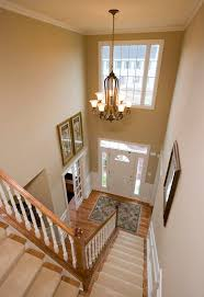 Foyer Chandelier Ideas Two Story Foyer With Rustic Large Chandelier Two Story Foyer