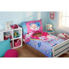 disney doc mcstuffins toy doc 4 piece toddler bedding set