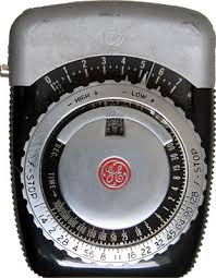 s light meter collection ge pr 1