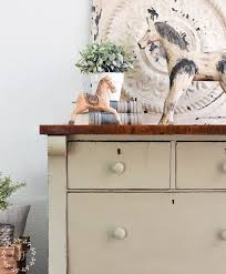 lichen painted chest of drawers fusion mineral paint color of