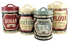kitchen canister sets ceramic canister set for kitchen huetour club
