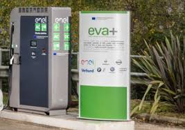 Recharge Station Electric Hybrid Enel Inaugurates Fast Recharge Station In Italy