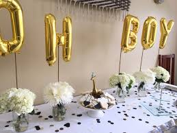 gold baby shower beautiful design gold and white baby shower skillful ideas black