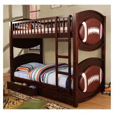Kids Football Room by Bedroom Captivating Pink Sheet White Wooden Bunk Bed And White