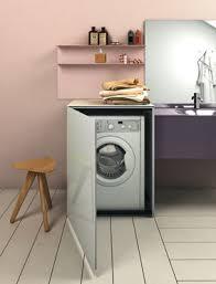 lave linge dans cuisine des meubles pour faire disparaître le lave linge salle de bains