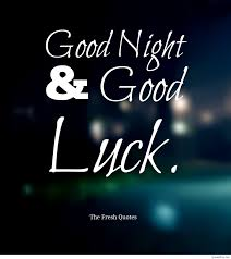 Gud Luck by Cute Good Night Pic