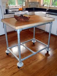 Make A Small End Table by Rolling Kitchen Island I Want To Make A Small One For My New