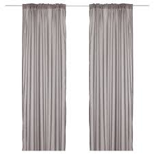 Drapes For Windows by Vivan Curtains 1 Pair Ikea