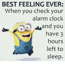 Alarm Clock Meme - best feeling ever when you check your alarm clock and you have 3
