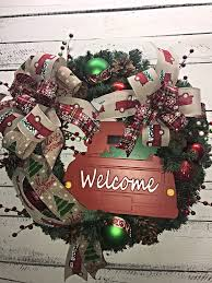 holiday wreath holiday door wreath christmas wreath for front