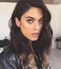 hairstyles for brown hair and blue eyes natural makeup blue eyes smokey brown hair war paint pinterest
