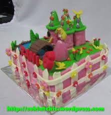 cupcake 3d princess dan kue ulang tahun princess jual kue ulang
