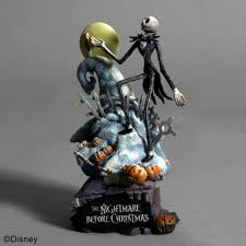nightmare before formation arts set of 4 figurine