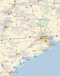 Map Of East Texas Fort Tours Inc Southern Early American Colonial Forts