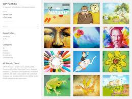 portfolio u2014 free wordpress themes
